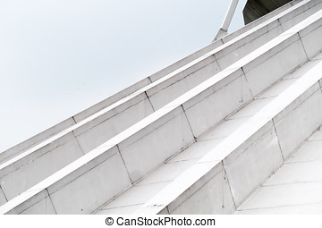 roof architecture abstract