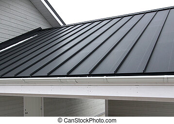 Roof - Black steel roof
