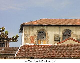 Roof, church