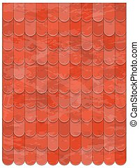 roof clay tiles texture beautiful banner wallpaper design illustration