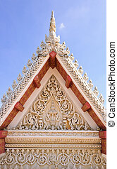 Roof decoration of wat Phra Kaew