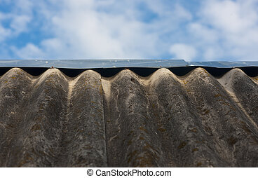 Roof from slate