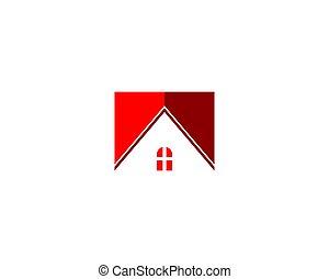 roof house logo