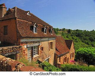 Valley of Dordogne ; Lot, Perigord, Quercy, Midi-Pyrenees, Limousin,