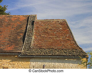 Roof, house