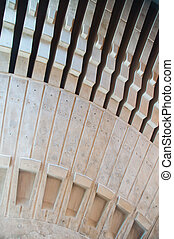 Roof Interior, Sydney Opera House - Detail of the inside...