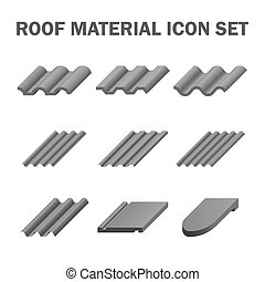 Roof material icon