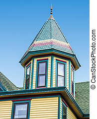Roof of a house, New Jersey,
