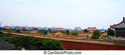 Roof of chinese builing.