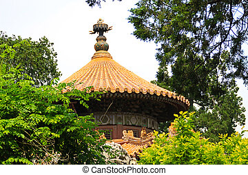 Roof of chinese house.