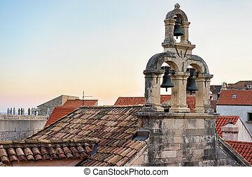 Roof of Church in Dubrovnik