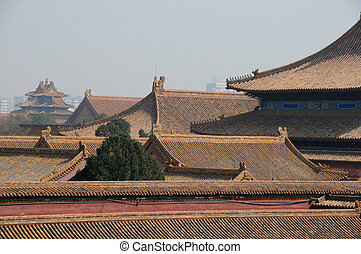 roof of Forbidden City