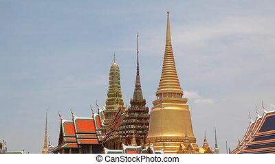 Roof of Grand Palace, Bangkok, Thai