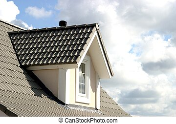 roof of house - american style of house