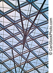 Roof of modern architecture
