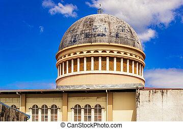 Roof of the catholic church in San Jose, Costa Rica.