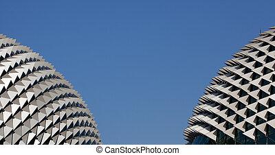 Roof of the Esplanade Theatre, Singapore