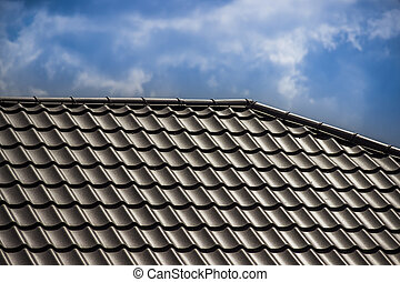 roof of the house