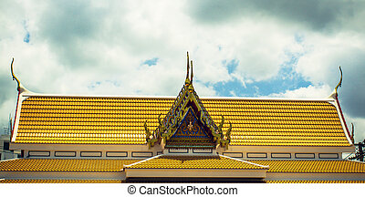 Roof of the temple
