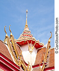Roof of the temple.
