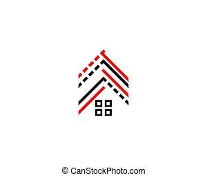 roof residence logo