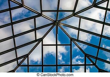 roof skylight with sky