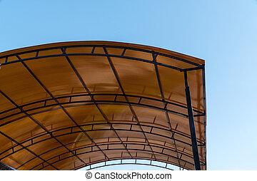 roof structure, plastic