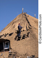 Roof thatching3