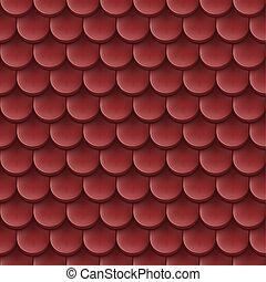 Roof tile background. - Abstract background with roof tile ...