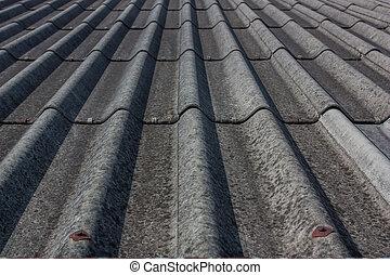 Roof tile gray.