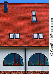 Roof tile with windows 2