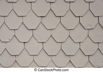 Roof tiles abstract background.