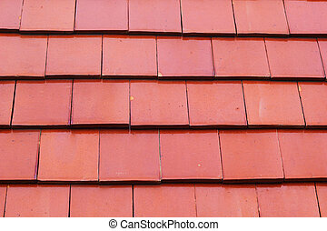 Roof tiles orange detail background
