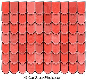 roof tiles texture beautiful banner wallpaper design illustration