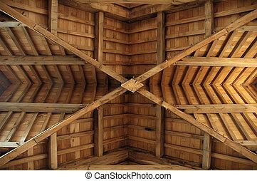 roof-truss, trä