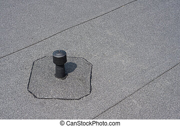 Aerator - flat roof ventilation. - Roof ventilation. Aerator...