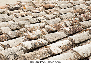 roof with red tile