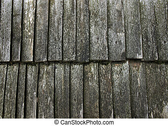 roof wooden old