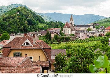 roofes, de, a, village