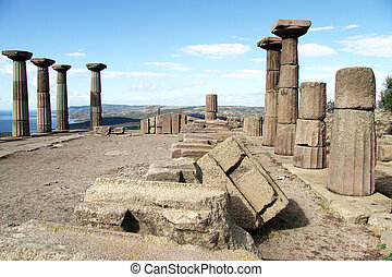 roofless, templo