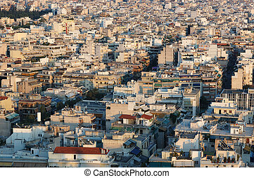 Roofs of Athens, Greece