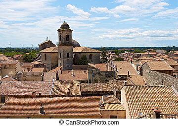 Roofs of Beaucaire - Bird's Eye View on the Roofs of the ...