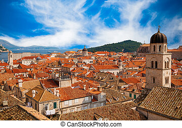 Roofs of Dubrovnik Old town
