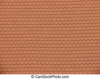 rooftile texture background - red rooftile texture useful as...