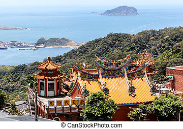 Rooftop of a Chinese Temple