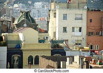rooftops of Barcelona - Spain