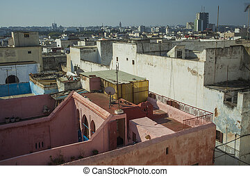 Rooftops of Rabat