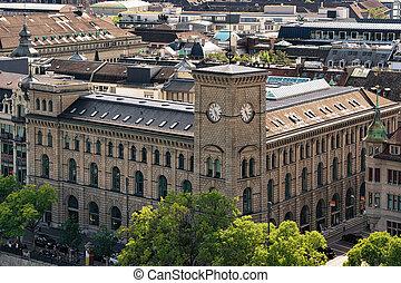 Post office in Zurich city center