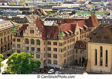 Stadthaus in Zurich city center