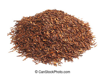 Rooibos on white background